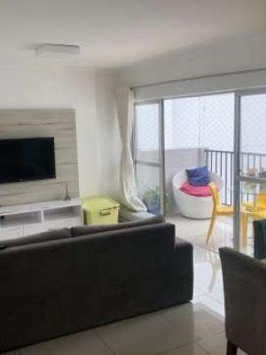 Apartamento para venda possui 97 metros quadrados e 3 quartos  vaga nas Graças - Recife - PE