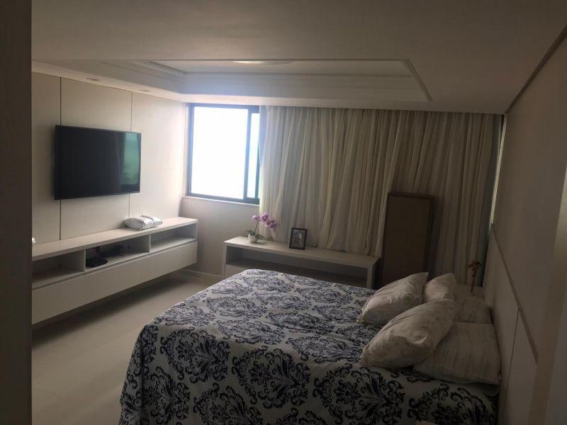 Apartamento Venda com 122 metros quadrados com 3 quartos sendo 1 suíte com 1 vaga em Candeias - Jab - apartamento Boa Viagem - 2 quartos - Eduardo Feitosa