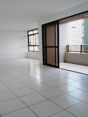 Apartamento Venda com 204 metros quadrados com 4 Suítes 3 vgs em Casa forte - Recife - PE