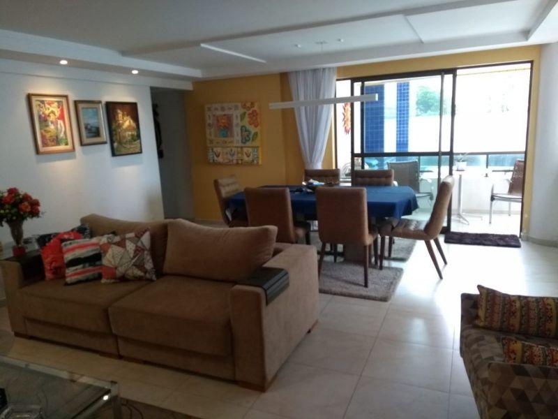 Apartamento Venda com 155 metros quadrados com 4 quartos sendo 3 suíte,  3 vagas no Pina - Recife - - apartamento Pina - 4 quartos - Eduardo Feitosa