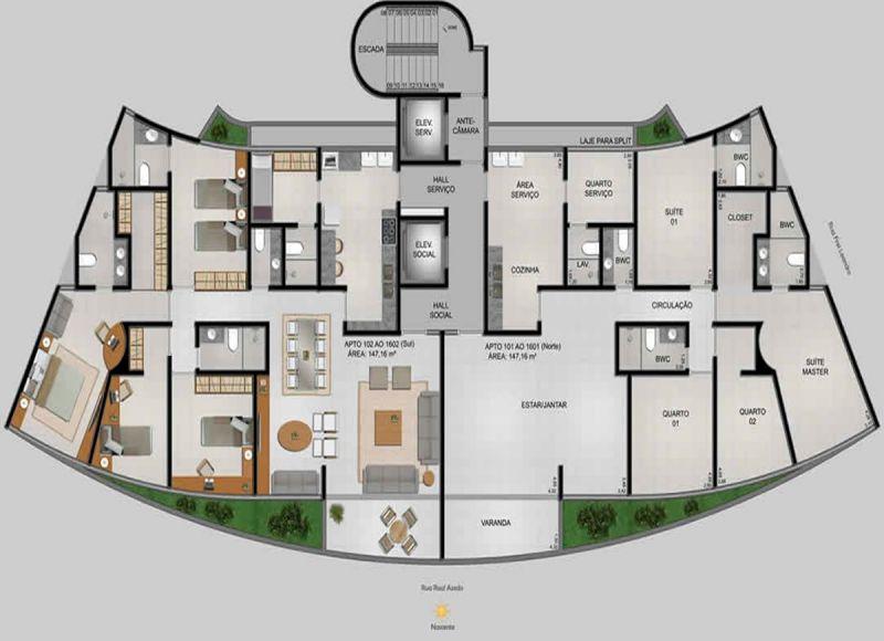 Apartamentos à venda no Pina: